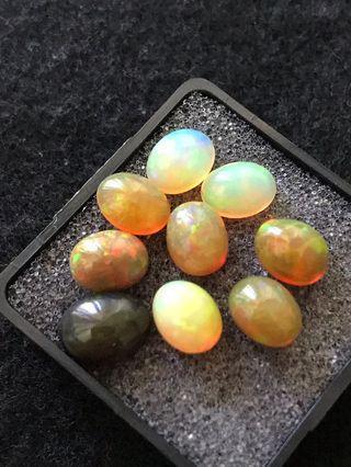 Glowing Welo Opals (sold per piece)