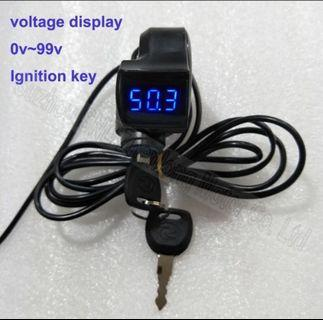 Nice key ignition on/off switch