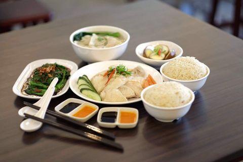 Service crew (halal) chicken rice restaurant