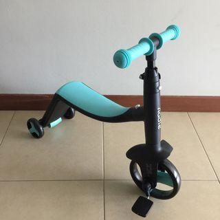 Baby Onadle 3in1 Balancing Bicycle & Scooter