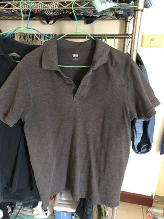 Uniqlo 男版L上衣,氣質灰色,穿不到了