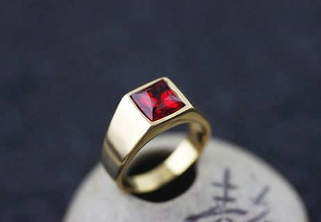 14K ROSE GOLD EP 1.0CT MYSTIC TOPAZ SOLITAIRE RING WOW size 5-9 you choose