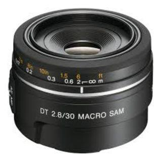 Sony SAL 30mm f2.8 Marco Lens. Sony Malaysia Warranty