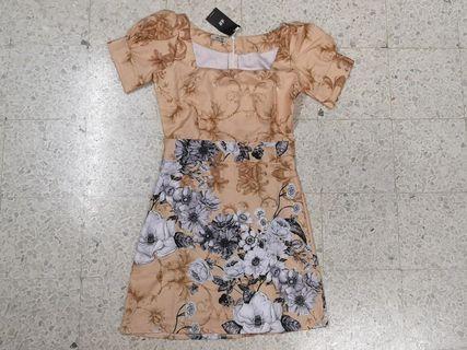 H&M Elegant Floral Dress