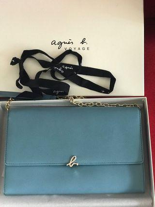 母親節首選禮物 Agnes b chain bag (100% real & new)