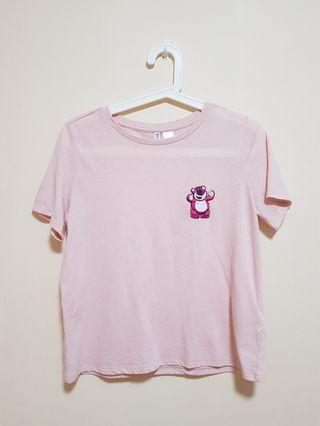 Lotso pink tee