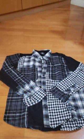 neighborhood x issue shirt size L