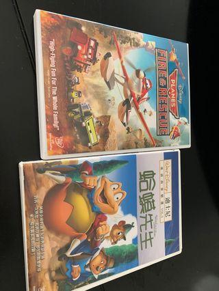 🚚 迪士尼卡通 飛機 & 蛤蟆先生