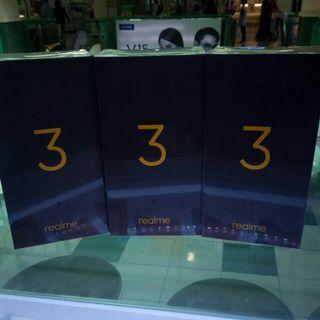 Realme 3 New 3/64 Gb Black Bisa Kredit Bunga 0%
