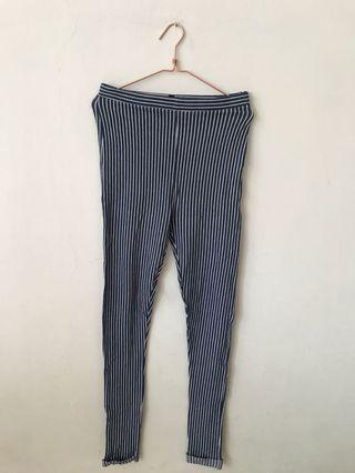 Topshop Blue Stripes Pants