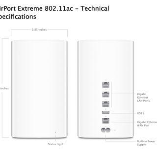 Used Apple Airport Extreme (6th generation)