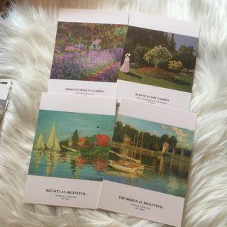 Monet Postcards