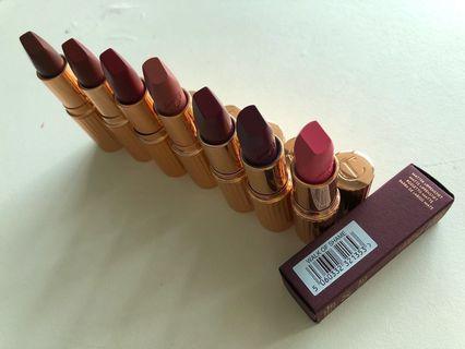 💲2️⃣8️⃣0️⃣ for 2💄WALK OF SHAME lipstick bundle set sale of Charlotte Tilbury 唇膏