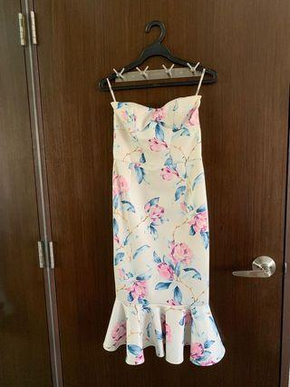 Gorgeous ASOS floral mermaid dress