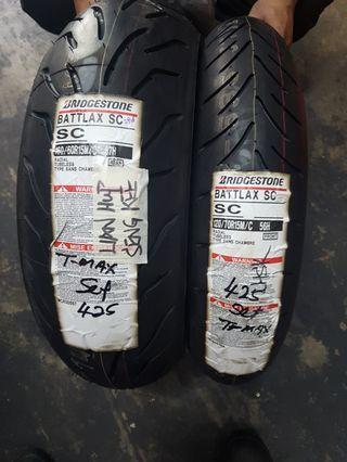 Tyres T-MAX battlay sc