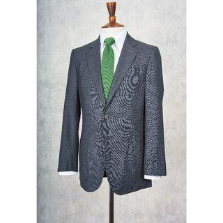 Louis Vuitton Dark Grey Wool Weave Sport Coat (Pre-Owned)