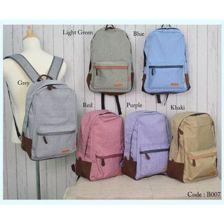 Student School Bag B007 RE3
