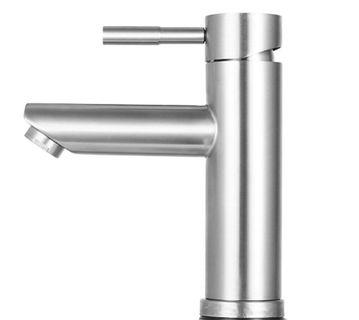 304 Stainless Steel basin Mixer tap