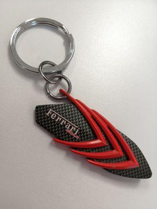 Collectible - Metal Ferrari Gear Keychain