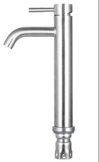 304 Stainless Steel Tall Basin Tap