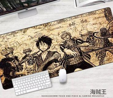 900x400x3mm XL Gaming Mousepad - One Piece Gaming Mousepad Thick & Washable Desk Mats