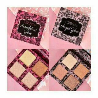 Beauty Creations Highlighter Scandalous glow&Angel glow