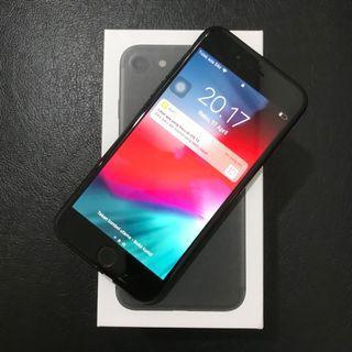 iPhone 7 128gb Blackmatte ex inter Fullset Mulus