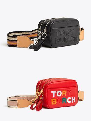 Tory Burch Perry double zip bag