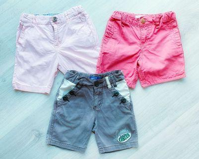 H&M Boy Short Pants 3pcs/set #CNYBABIES