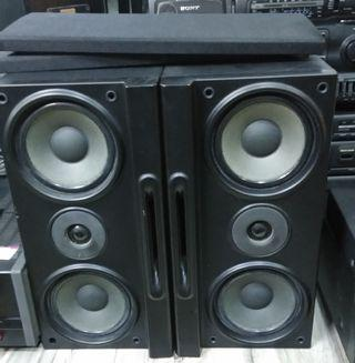 REDIFFUSION 2 way 3 speaker system