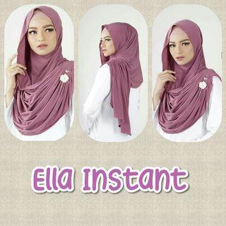 Ella Instant Shawl Hijab Tudung Muslimah