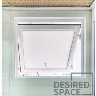 Top Hung Toilet Window With Laminated Glass