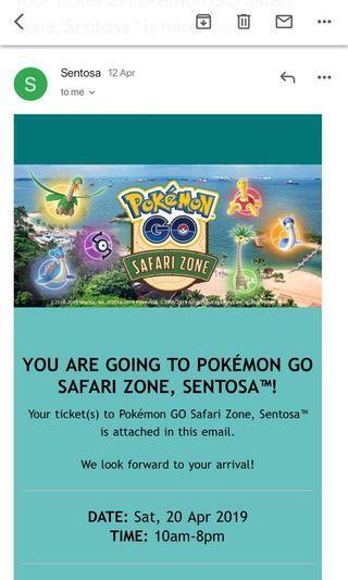 🚚 Pokémon Gofest Saturday 20/4