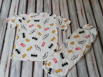 Bnew superhero pajama fits 3 to 5 yrs old