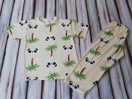 Bnew Panda Pajama fits 3 to 5 yrs old
