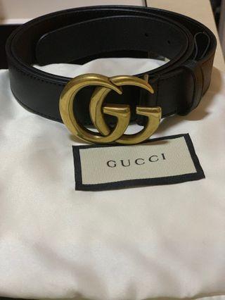 5d6f7cdb3de  Price reduced Gucci Marmont belt in Black color