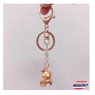 泰國㊣聖物.🐲龍婆本廟 特別加持✨金豬🐷招財、咬錢貔貅💦風生水起運轉鑰匙圈
