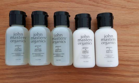 🚚 John Masters Organics Travel bottled
