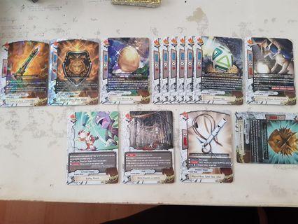 Buddyfight dungeon world cards