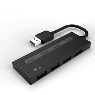 Flujo AH-56 4 PORT USB 3.1 HUB with power switches