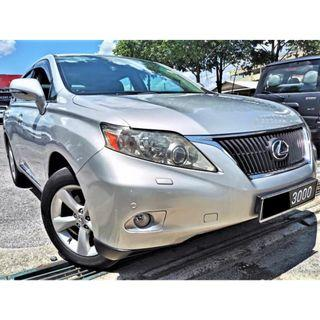 2010 Lexus RX350 3.5 SUV TIPTOP LOW MILEAGE