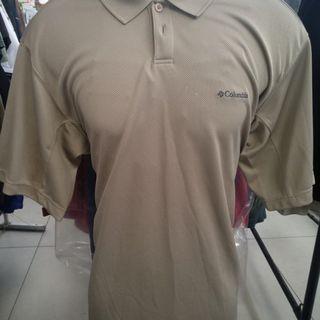 Columbia Collar Tshirt Omni Shades