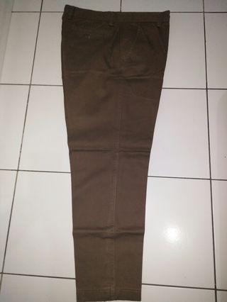 Celana Chino Coklat no 29