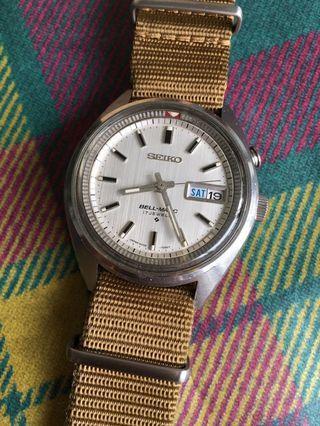 Vintage Seiko Bellmatic 4006-7029
