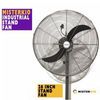 BN Industrial Stand Fan With Safety Mark
