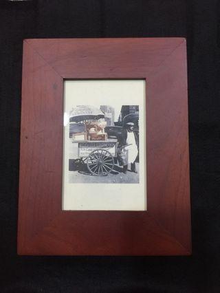 復古相框木盒-單格