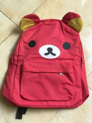 Rilakkuma pink Backpack