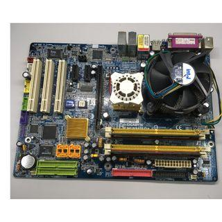 gigabyte ga-81945g pro corsair vs2gb667d2 ram intel CPU 底版 技嘉