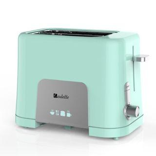 BN Odette 2 Slice Bread Toaster- Pink Toaster/Mint Toaster/Local Warranty