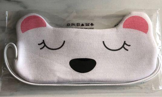 Pink Polar Bear Sleeping Mask from the Body Shop
